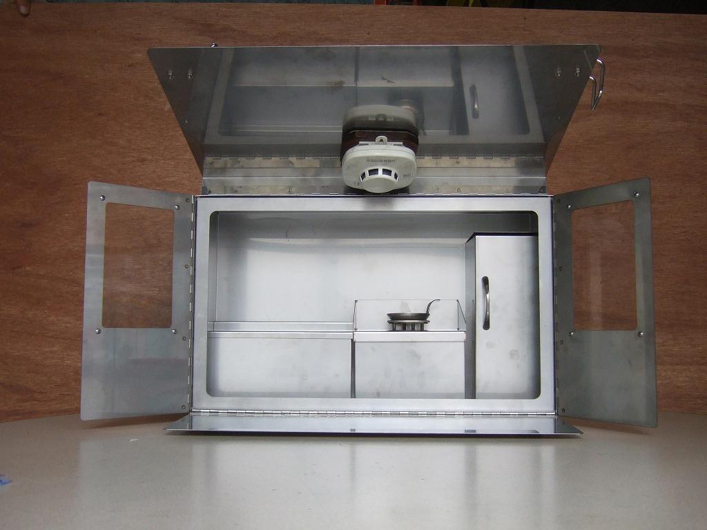 画像2: 火災予防啓発用「天ぷら油火災実験装置」