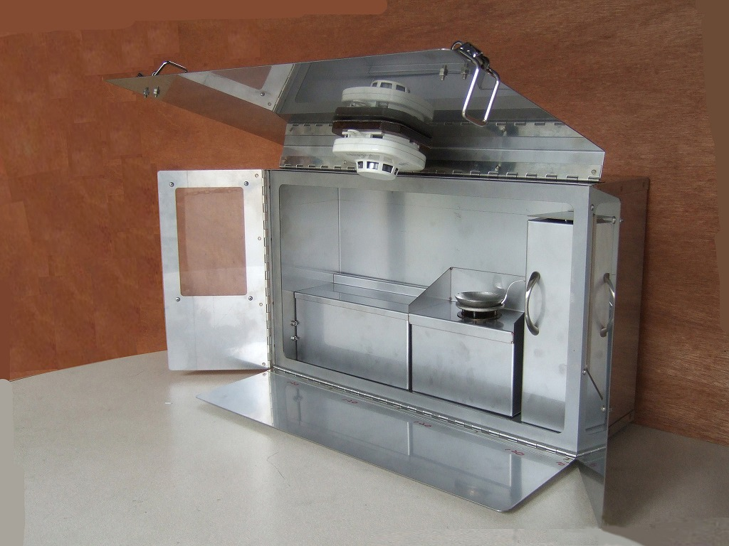 画像3: 火災予防啓発用「天ぷら油火災実験装置」